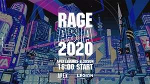 国内最大級eスポーツ大会「RAGE ASIA 2020」にVtuberがゲスト参戦! VR会場で一緒に盛り上がろう!!